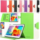 PU Leather Folio Case Stand Cover For Samsung Galaxy Tab 4 10.1 SM-T530 Tablet