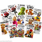 The Muppets Birthday Card 18 30 40 50 60 Fozzy Waldof Kermit Miss Piggy Gonzo