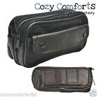 Soft Leather Spec/Glasses Case For 2 Pairs Glasses with Belt Loops.
