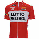 Vermarc Lotto Belisol Short Sleeve Cycling Jersey.
