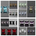 12-72 pieces Exquisite 5x6x10mm Butterfly Crystal beads Color&Quantity Optional