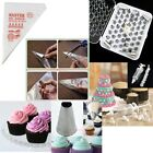 24 52 Steel Icing Piping Nozzles+100 Bags Tips Set Cake Decorating Sugarcraft S