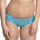 Panache Cleo Lingerie Lily Brief/Knickers Aqua/Pink 7352 NEW Select Size