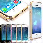 ULTRA THIN SLIM BUMPER ALUMINIUM METAL FRAME COVER CASE FOR IPHONE 4G 4S 5G 5S