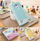 Cute Strawberry Icecream Silicone Case Cover + Strap for LG G3 D850 D855