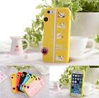 Cute Animal Happy Bus Silicone Rubber Case Cover for Apple iPhone 4 4S 5 5S