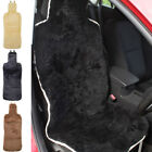 Genuine Sheepskin Car Seat Cover. With Padded Back & Elasticated Straps