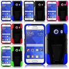 For Samsung Galaxy Ace Style S765C Unique Hybrid T-STAND Cover Case + LCD Screen