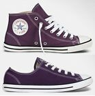New Converse Chuck Taylor All Star Dainty Elderberry Purple Mid Low Women Shoes