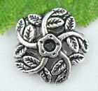 Wholesale 70/150Pcs Tibetan Silver  Bead Caps  Findings  10.5x2.5mm(Lead-free)