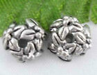 Wholesale 80/180Pcs Tibetan Silver  Bead Caps  Findings  7x3mm(Lead-free)