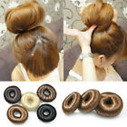 PONY TAIL EXTENSION HAIRPIECE ELASTIC DONUT RING HAIR BUN SCRUNCHIE HOLDER