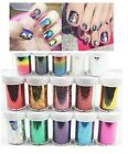 New Nail Art Transfer Foils Free Adhesive Acrylic Gel System Tips Decoration