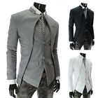 Hot Sale Mens Premium Slim Sexy Casual Coat Jacket Fashion White Suit Blazer New