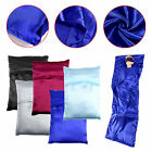 Single Silk Liner Sleeping Bag Hostel Travel Inner Sheet Sleep Sack Backpacking