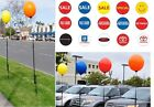 Reusable Balloon & 5'+ Pole Kit No Helium Needed Certified Special Sale  U Pick