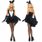 SEXY ADULT BUNNY RABBIT Costume Halloween Outfit Dress Up Halloween Cosplay NEW