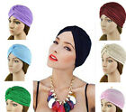 JR Indian Fashion Unisex Arab Bonnet Hat Head Wrap Shower Hip-hop Cap AU 4