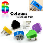 3 Pin USB Charger UK Wall Plug Adapter For MP3 MP4 Cellphone