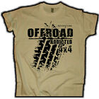 Off Road 4x4 T-Shirt Jeep SUV ATV US Car Outdoor Truck Trail V8  Old School Hot