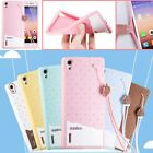 Cute Fashion Hand Strap Soft Silicone Protect Case Cover For Huawei Ascend P7 4G