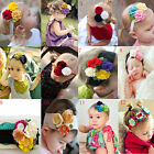 Cute Children Photo Props Baby Soft Toddler Infant Flower Hairband Wear Headband
