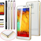 Hard Aluminum Metal Bumper Case Cover For Samsung Galaxy Note 3 III N9000+Stylus