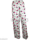 F46 LADIES WINCEYETTE PYJAMA BOTTOM DISNEY MINNIE MOUSE SLEEPWEAR NIGHTWEAR 8-22