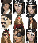 Pirate Eyepatch Eye Patch Ladies Mens Fancy Dress