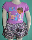 BRAND NEW Girl Doc McStuffins Dress Size 1,2,3,4,5,6