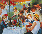 Pierre Auguste Renoir LUNCHEON OF THE BOATING PARTY figurative art print new