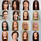 30%,50%,90%,100% New Style Pro Training Head Real Human Hair Hairdressing Head