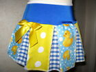 NEW Girls CUTE Blue,Yellow,White,Ducks,Spots,Check Cheerleader Skirt,gift,party