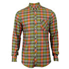 Mens Ben Sherman Soho Slim Fit Long Sleeve Check Shirt Mod Designer Label Gents