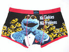 bnwt Sesame Street Cartoon Character Mens Novelty Cookie Monster boxers