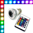 E27 3W/7W Color Change LED RGB Magic Light Bulb With Wireless Remote 16 Colors