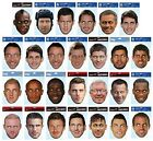Official Football Club - Player FACE MASKS (Party/Fancy Dress/Joke/Costume)