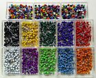 1000 Map Tacks Travel Map Pins - 10 boxes FREE USA SHIPPING