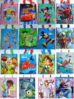 Pack Of 12 Disney Character Childrens Birthday Gift Tote Party Loot Bags
