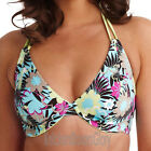 Freya Swimwear Moonflower Halter Bikini Top Oasis NEW 9916 Select Size