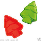 SILICONE Christmas Tree Shaped Mould - FOR SOAP CHOCOLATE COOKIE FONDANT CAKE