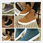 Men's Casual High Shoes Sneakers Flattie Trainers Antislip Shoe Boots Fall New Z