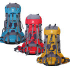 70+5L Heavy Duty Hiking Camping Travel Backpack Shoulders Bag New High Quality