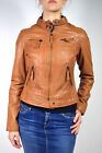 OAKWOOD leather jacket hello new 2 cognac Sheep Leather new Gr. M or L