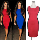 Womens slimming Stretch Party Wiggle Pencil bodycon Business Dress E557
