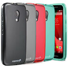 Frosted Matte Soft Flexible TPU Gel Case Cover For Motorola Moto G 2nd Gen 2014