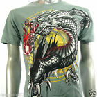 Artful Couture T-Shirt Tattoo Indie AG41 Sz M L XL XXL Dragon Yin Yang Japanese
