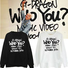 KPOP BIGBANG G-Dragon Sweater GD WHOYOU Round Neck Pullover Hoody