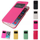 Newest Flip Leather View Window Skin Case Cover for Apple  iphone 5 5g 5s
