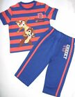 bnwt Disney AT George Chip & Dale Cartoon Character Baby Boys 3 Piece Set 6-9M